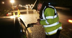 "Gardaí will have early-evening, night and ""morning-after"" checkpoints over the Christmas period. Photograph: Frank Miller"