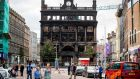 Primark's landmark Belfast store was destroyed in a fire at the end of August.