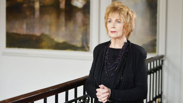 Writer Edna O'Brien: her novel 'The Little Red Chairs', published in 2015, is included in '1,000 Books to Read Before You Die'. Author James Mustich considers O'Brien one of the most accomplished fiction writers in English of the past 100 years. Photograph: Alan Betson