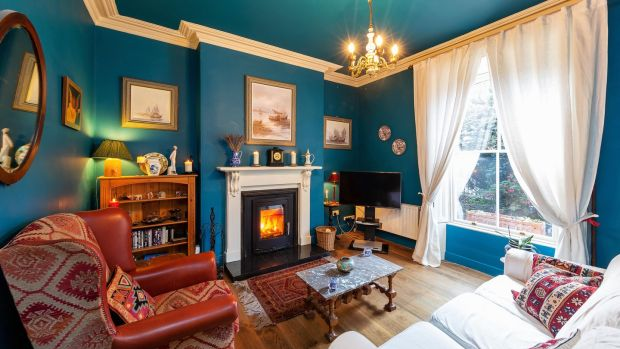 Livingroom at number 45 Donore Avenue, Dublin 8