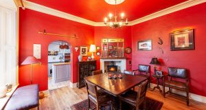 Diningroom at number 45 Donore Avenue, Dublin 8