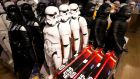 Star Wars action figures. Photograph:  Kenzo Tribouillard/ AFP/ Getty Images
