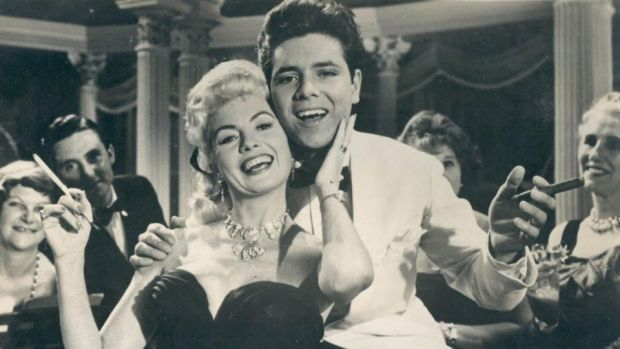 19-year-old Cliff Richard with Yoande Donlan in Expresso Bongo (1959)