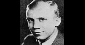 Religious writer Thomas Merton, pictured in the late 1930s. File photograph: Getty Images