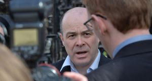 Reports at the weekend suggested former minister for communications Denis Naughten believed he should return to the Cabinet as he had been exonerated by the Smyth report. Photograph:  Alan Betson