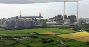 Moneypoint power station in Carrowdotia South, Co Clare Photograph: Liam Burke/Press 22