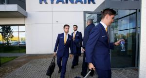 Ryanair crews  paying income tax here while based elsewhere are coming out with less after-tax pay than  employees working for local airlines.  Photograph; AFP