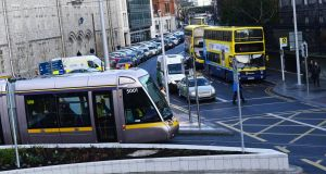 "A Bord Pleanála rejected a plaza scheme due to concerns about the ""significantly negative impacts"" it would have on bus transport and traffic in the city. File photograph: Cyril Byrne"