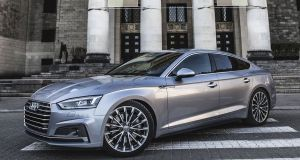 Audi A5 Sportback:  the more practical of the two