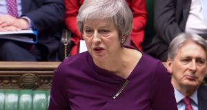 British prime minister Theresa May: will appeal to MPs to back a deal that is 'opposed by much of her party and the opposition' Photograph: AFP/Getty Images