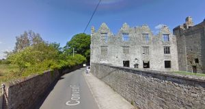 Covent Road, which runs alongside Athlumney Castle, has been earmarked as part of the route for the proposed Navan 2030 Athlumney to Trim cycle scheme. Photograph: Google Street View