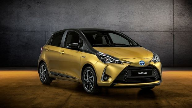 Toyota is also introducing a €19,740 'Y20' birthday edition