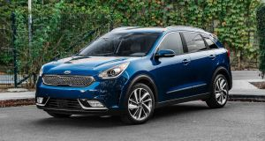 The plugin Kia Niro easily bests 60mpg on the motorway, and you should get 40-45km out of a fully-charged battery around town