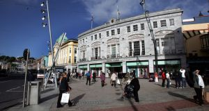 Premises on Patrick Street in Cork can offer yields above 6 per cent. Photograph: Eric Luke