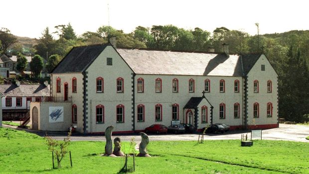 The former Christian Brothers industrial school at Letterfrack, Co Galway: the building now houses the Galway-Mayo Institute of Technology's furniture design and wood technology department Photograph: Joe O'Shaughnessy.