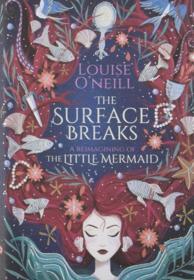 Louise O'Neill's The Surface Breaks takes the darkness and misogyny of Hans Christian Andersen's Little Mermaid and brings it to, well, the surface