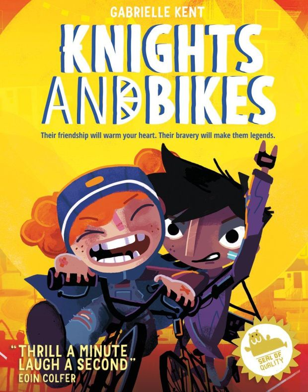 Knights and Bikes, by Gabrielle Kent, is hugely entertaining