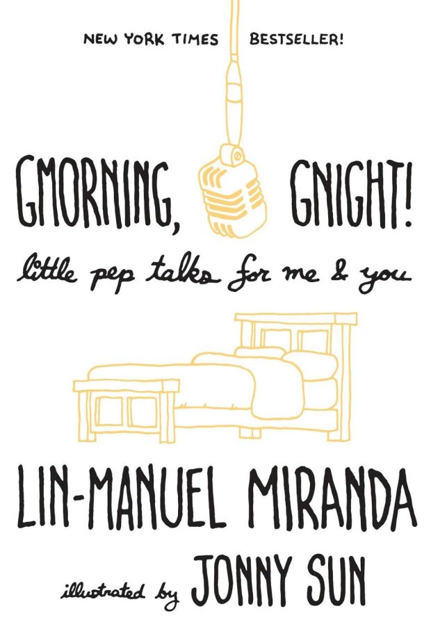 Gmorning, Gnight!: Little Pep Talks For Me and You is a sweet, funny book, wittily illustrated by Jonny Sun