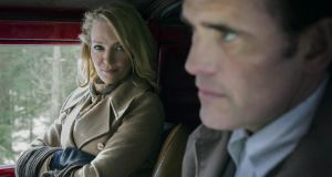 Uma Thurman doesn't know what's ahead of her in The House that Jack Built