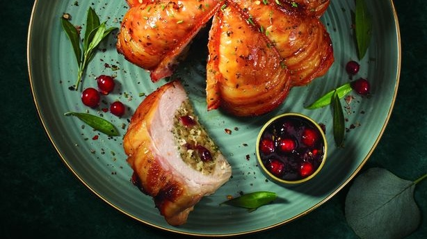 Irish people want their turkey to look like a turkey: the stuffed breast meat parcel that will not be repeated this year at Aldi