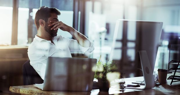 "Workplace stress is a highly complex problem, fraught with ""psychosocial risks"", according to the ESRI. Photograph: iStock"