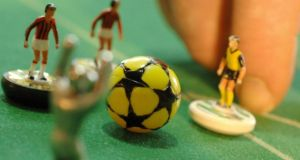 Subbuteo was invented by former RAF pilot Peter Adolph just after the second World War. Photograph: Michael Gottschalk/AFP/Getty Images