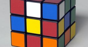 Over the last 40 years close to half a billion Rubik's Cube have been sold. Photograph: Jeffrey F Bill/Baltimore Sun