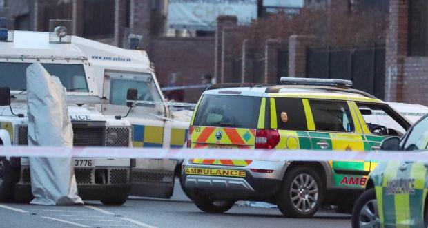 Man shot dead outside Belfast school as he waited for child