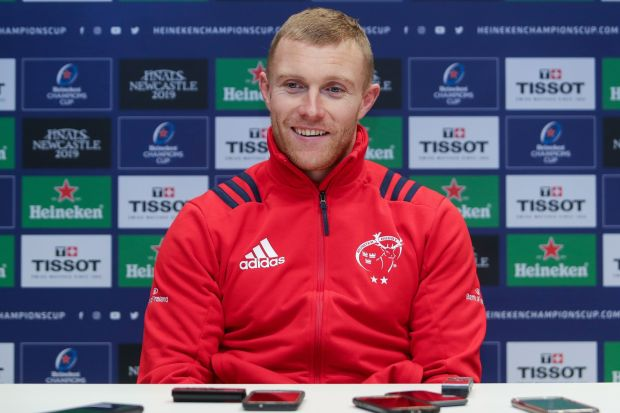 Keith Earls: 'I've ticked a few boxes in the last couple of years with Ireland and more recently two weeks ago with [the win over] New Zealand' Photograph: Laszlo Geczo/Inpho