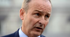 Fianna Fáil leader Micheál Martin:  will decide his next move after his negotiating team report back to him on progress of talks to date. Photograph: Dara Mac Dónaill/The Irish Times