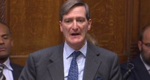 Conservative MP Dominic Grieve:  his amendment will allow MPs to table amendments to any motion on EU withdrawal that would follow a defeat of Theresa May's deal next week. Photograph: AFP Photo/PRU/HO/Getty