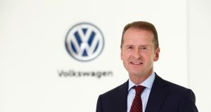 """Producing cars in a Co2-neutral manner is only half the battle. Cars must be used in a Co2-neutral manner as well"" said Herbert Diess, VW's chief executive."