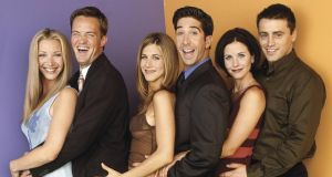 Friends for good? Lisa Kudrow, Matthew Perry, Jennifer Aniston, David Schwimmer, Courteney Cox and Matt Le Blanc. Photograph: David Bjerke/NBCU/Getty
