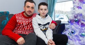 "Ernest Draper and his son Matthew (10), who has been expelled from his local school. ""We have done everything we can to help,"" says   Draper. Photograph: Tom O'Hanlon"