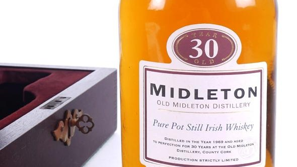 Lot 285, Middleton 30-year-old whiskey