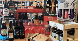 Blackrock Cellar will make up beer gifts from smaller three-bottle sets to larger hampers of 20 beers or more.