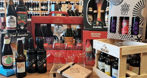 Blackrock Cellar will make up beer gifts from smaller three-bottle sets to larger hampers