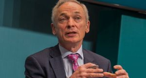 "Minister for Climate Action and Environment Richard Bruton welcomed the overall decrease, but highlighted Ireland was ""far off course to achieve the emissions targets that we have committed to"". Photograph: Gareth Chaney Collins"