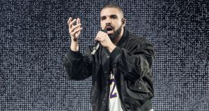 Drake was most-streamed artist in Ireland and globally.  Photograph:  Harmony Gerber/Getty