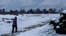 The  metallurgical plant  in Nizhny Tagil, one of  the dirtiest cities in Russia, where  the concentration of benzopyrene in the air is 13 times  the permissible level. Scientists say the form and pace of the world's response to climate change will shape the health of nations for centuries to come. Photograph: Sergei Ilnitsky/EPA