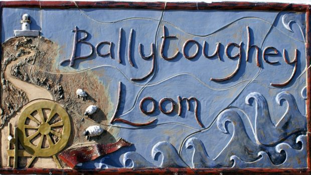 Ballytoughey Loom is a craft shop operated by Beth Moran on Clare Island from April to October