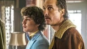Richie Merritt and Matthew McConaughey in 'White Boy Rick'