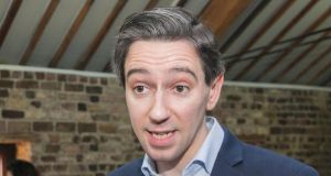 Minister for Health Simon Harris has insisted the new maternity hospital will be run according to State law Photograph: Gareth Chaney/Collins