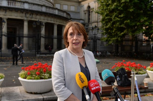 Social Democrats TD Róisín Shortall has labelled Simon Harris' handling of the maternity hospital issue as 'pathetic' Photograph: Dara Mac Dónaill/The Irish Times