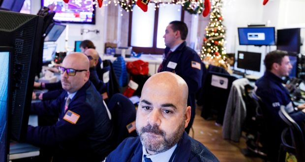 84b55d662 Traders on the floor of the New York Stock Exchange. Photograph  Justin  Lane
