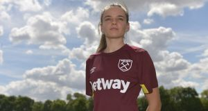 "Leanne Kiernan: ""The standard is so high, especially when you're coming up against the likes of Arsenal, Manchester City and Chelsea."" Photograph:  Arfa Griffiths/West Ham United via Getty Images)"