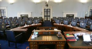 The Bill was supported without a vote Photograph: Alan Betson/The Irish Times