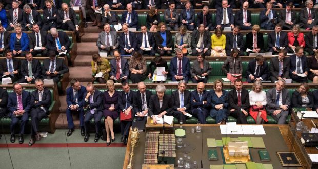 1d65143f82b UK Prime Minister Theresa May standing at the dispatch box last week. The  House of