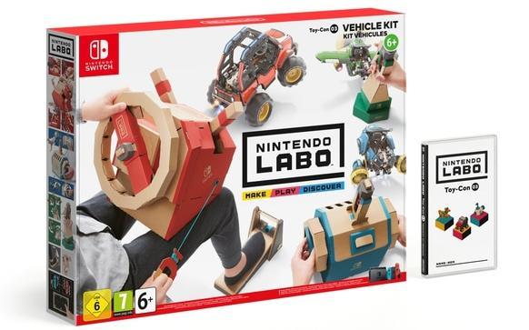 Nintendo Labo DIY kit, from €70