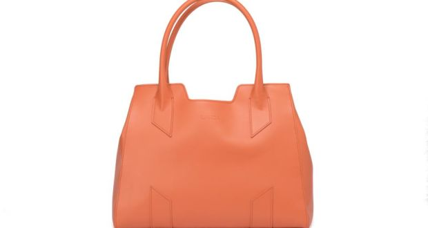 A leather bag from Landa  the brand has just launched in Ireland and its  collection 38104b1f4af1a
